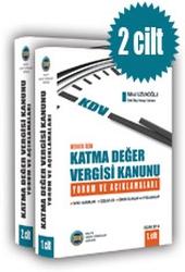 Herkes İçin Katma Değer Vergisi Kanunu Yorum ve Açıklamaları Kitabı (2 Cilt)