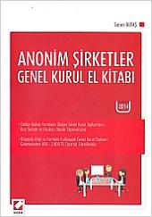 Anonim Şirketler Genel Kurul El Kitabı