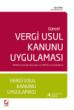 Vergi Usul Kanunu (VUK) Uygulaması Kitabı